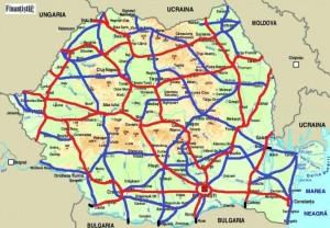 Asa Ar Trebui Să Arate Harta Romaniei 10 000 Km De Autostrăzi Si